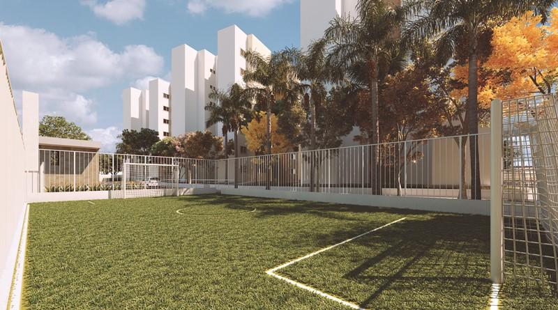Campinho de Futebol do Condomínio Premier Leste Teresina