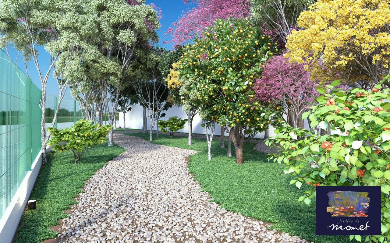 Área de lazer do Condomínio Jardins de Monet