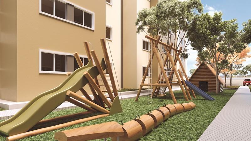 Playground do Condomínio Premier Leste Teresina