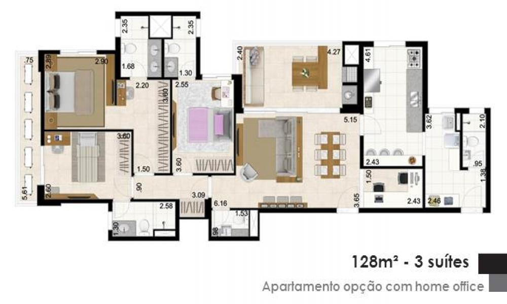 Apartamento com Home Office