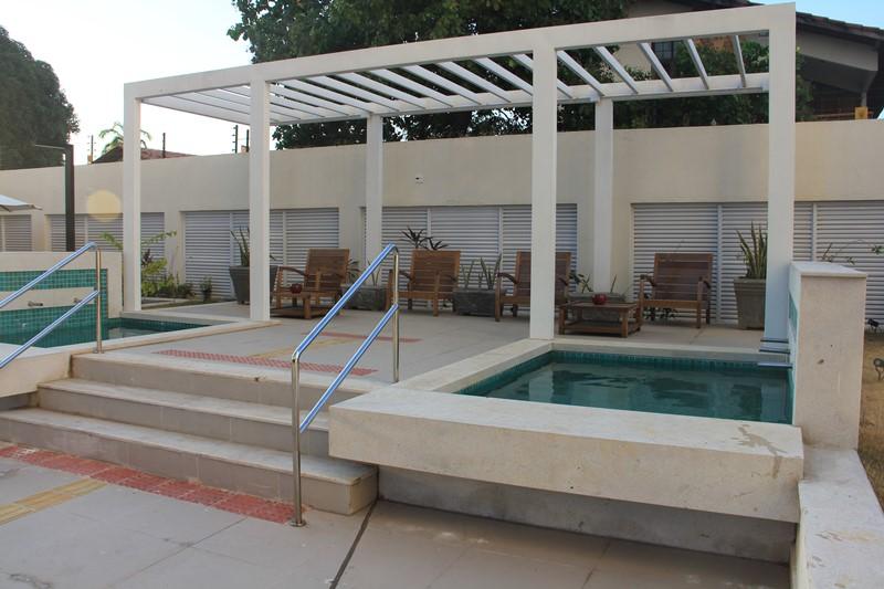 Área de Lazer do Empress Residencial Resort Teresina