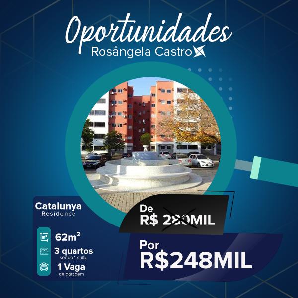 Catalunya Residence Oportunidade Rosângela Castro Imobiliária
