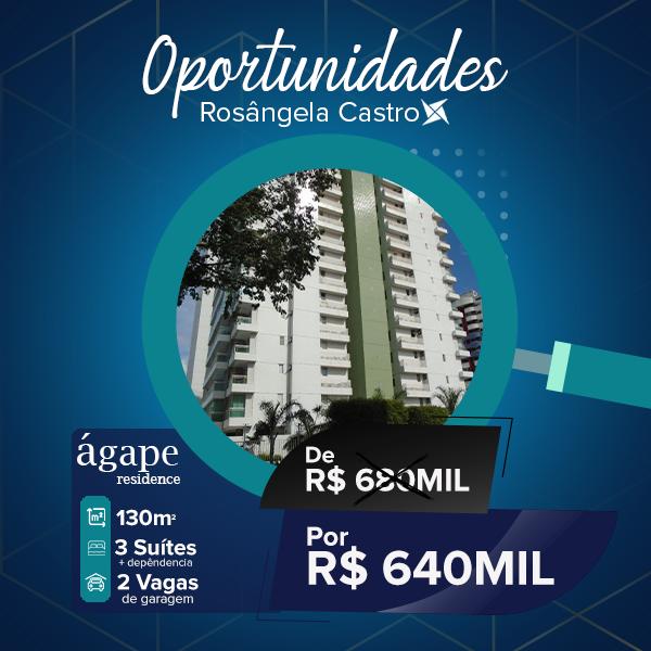 Oportunidade Rosângela Castro Imobiliária ágape