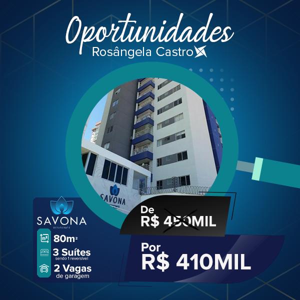 Oportunidade Rosângela Castro Imobiliária Savona