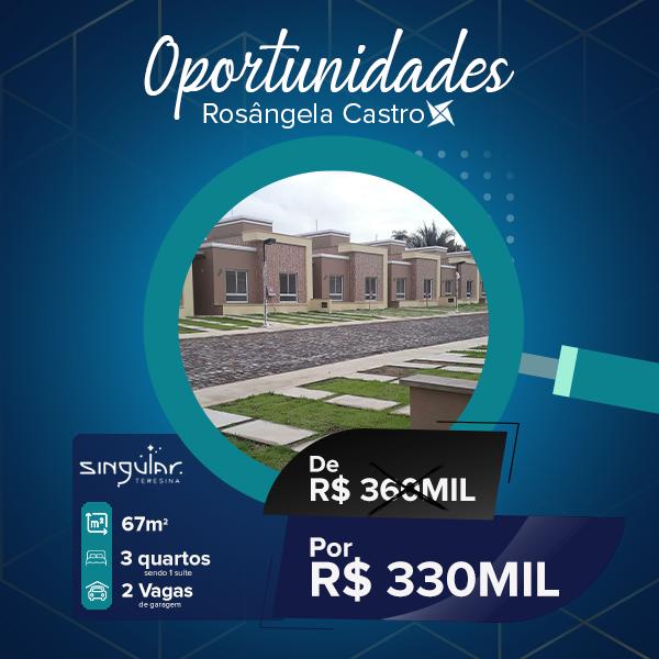 Oportunidade Rosângela Castro Imobiliária Singular