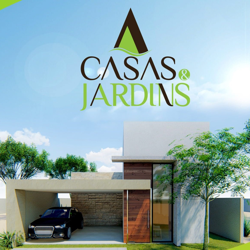 Casas e Jardins no Aldebaran Leste - Teresina-PI