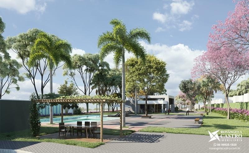 Praça do Condomínio Jardins de Monet