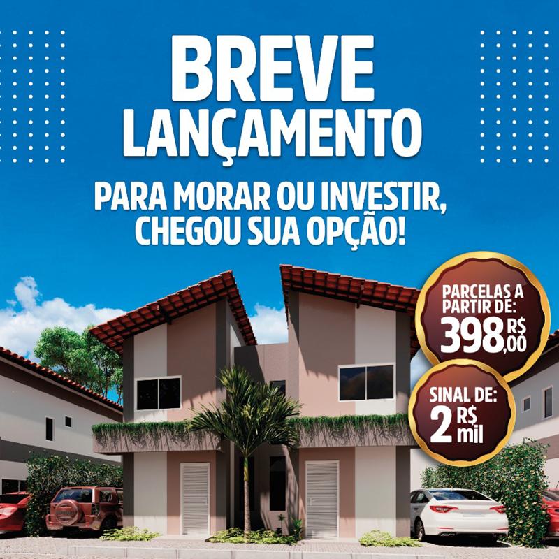 Casas no Condomínio Nicanor Park - Teresina-PI