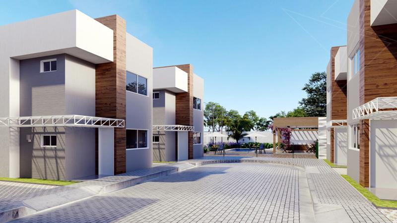 Casas Condomínio Nobile Vitta - Teresina-PI
