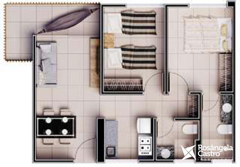 Vistamar Coqueiro Apartamento Tipo A